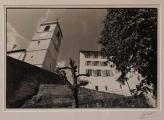 <h5>Saint-Pierre et le couvent à Porrentruy</h5><p>Géraud Siegenthaler, 2006, 41 x 51, photographie</p>