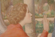 <h5>Annonciation</h5><p>Théophile Robert, 1943, 124 x 91, huile sur panneau de bois croisé </p>