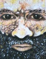 <h5>Sina Sina Mourning Face Painting </h5><p>Jane Wena, Sina Sina Mourning Face Painting (Chimbu Province), 2000, 39 x 30 pastel et gouache sur papier</p>
