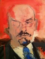 <h5>Ленин </h5><p>Frank Suppan, Ленин, détail</p>